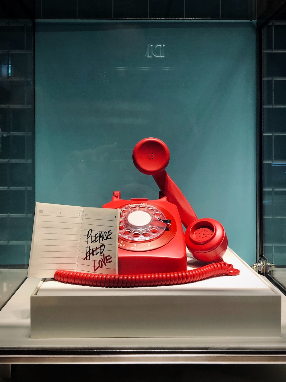 Telefon Love rot